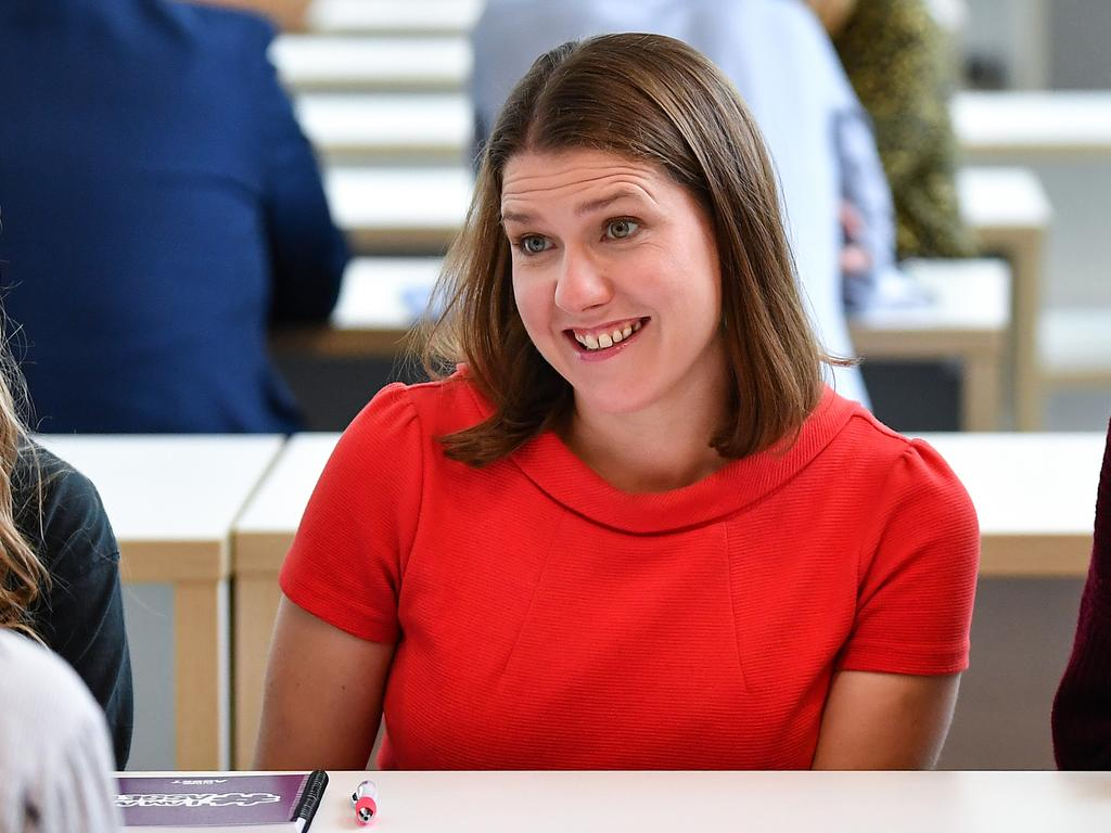 Jo Swinson, leader of the Liberal Democrats. Picture: Getty