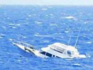 Sailors rescued by cruise ship back home