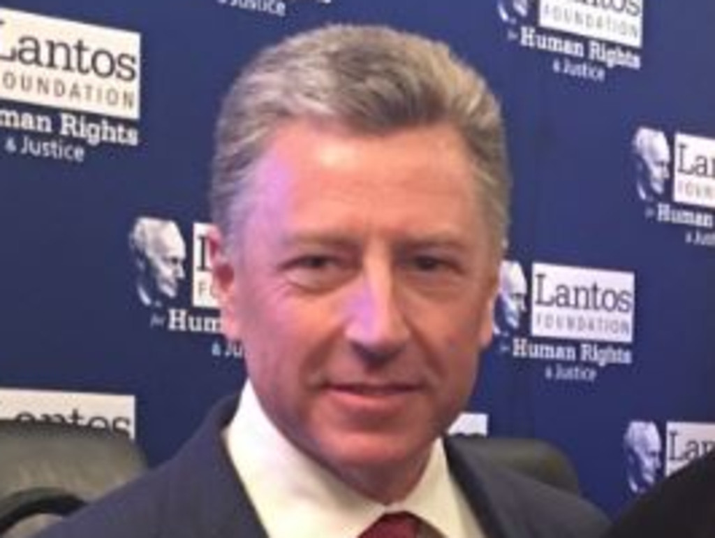 Kurt Volker, special envoy to Ukraine has resigned. Picture: Twitter.