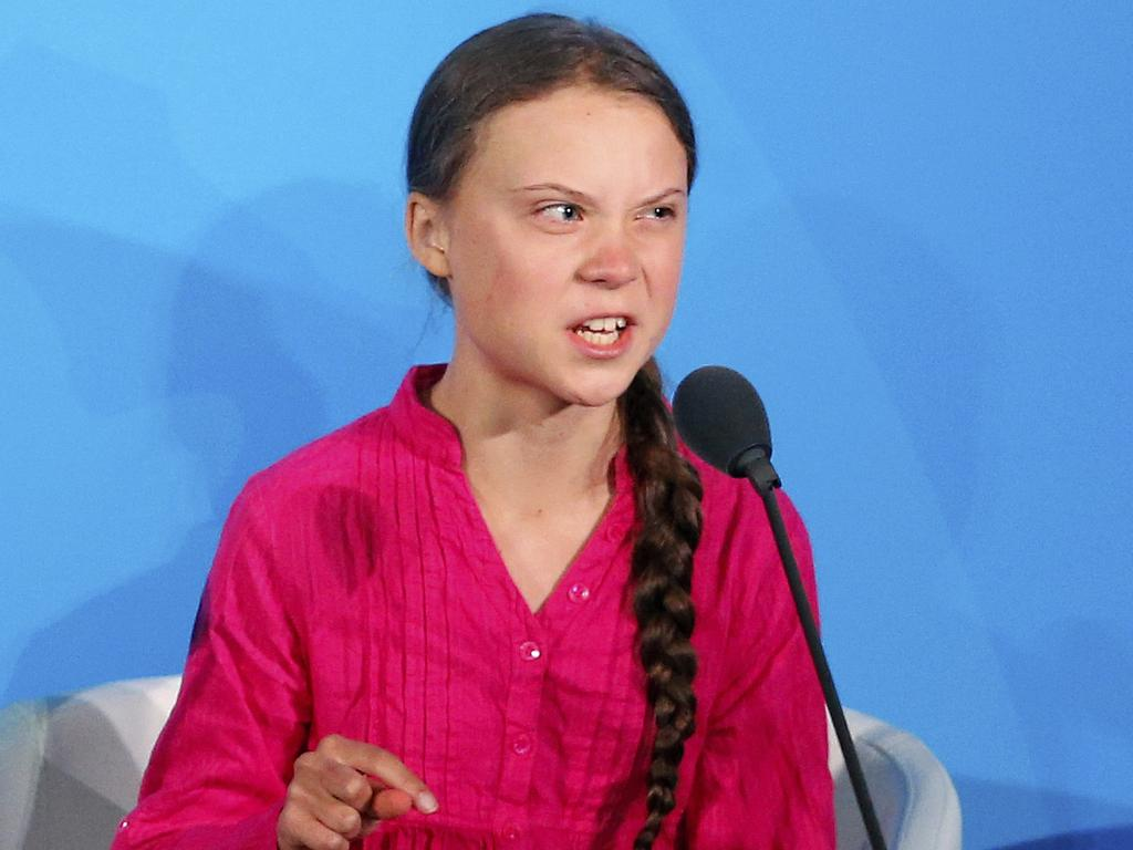 'How dare you?'... Thunberg thunders at UN Climate Summit leaders. Picture: AP