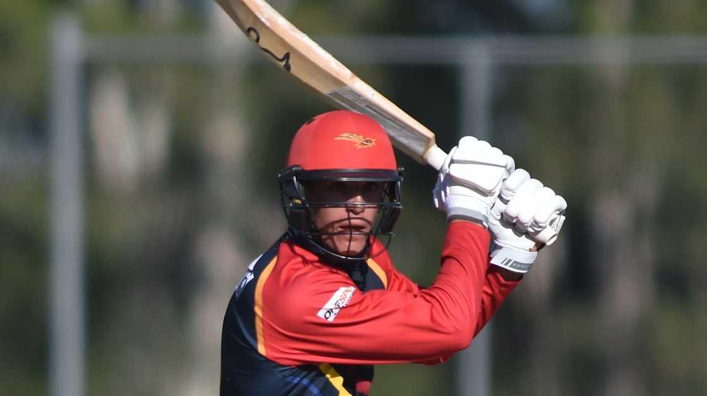 Sunshine Coast Scorchers batsman Angus Lovell