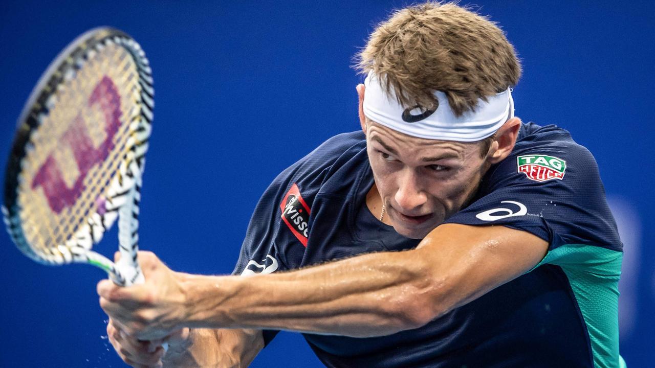 Alex de Minaur won his third title on the ATP Tour.
