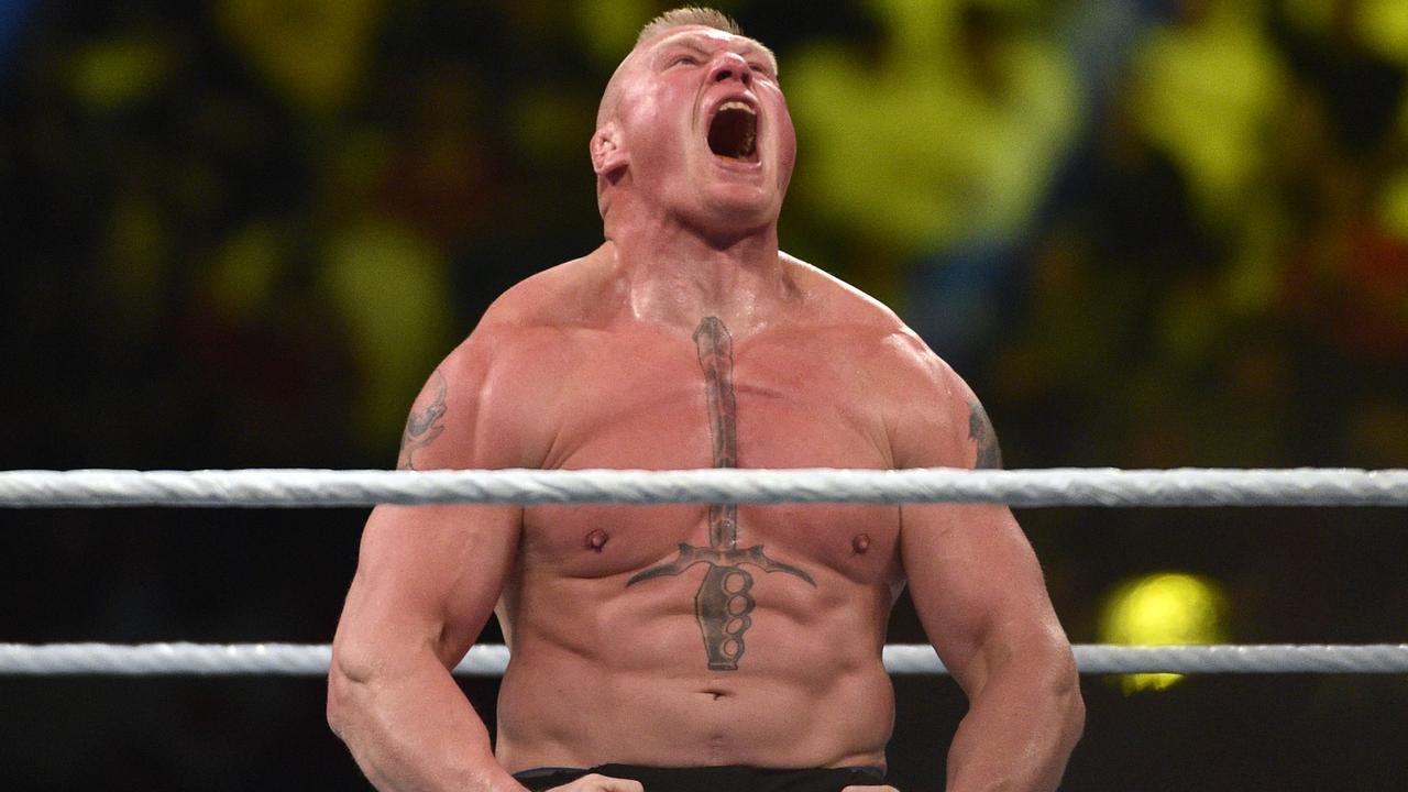 If Brock Lesnar says no to you, you probably accept it and move on.