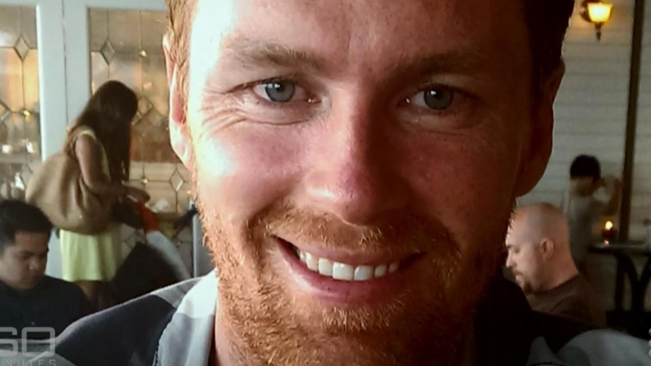 Tori Johnson, the Lindt cafe manager, who was murdered by terrorist Man Horn Monis. Picture: Channel 9