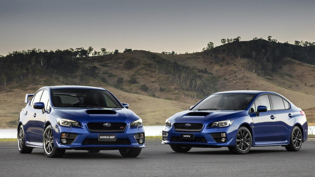 It's important to know whether you're looking at a WRX (right) or STI (left).