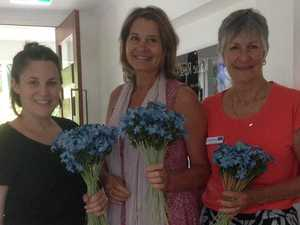 Hospice pays tribute with forget me nots at walkathon