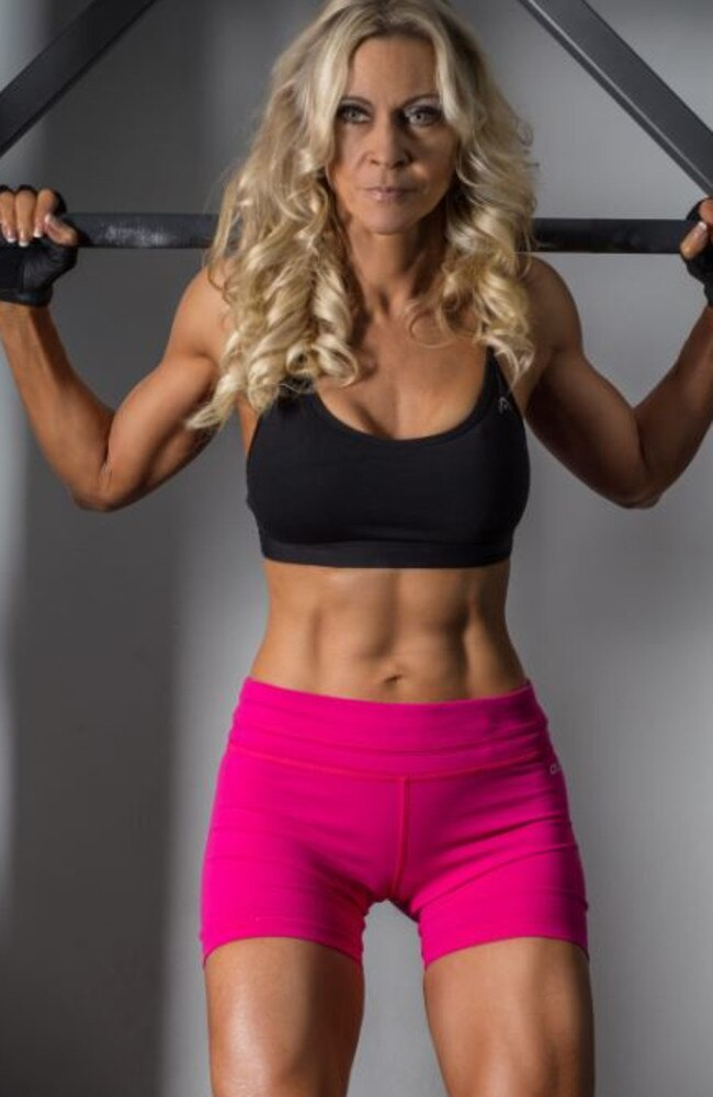 But then she discovered bodybuilding which ultimately changed her life. Picture: Jane Curnow