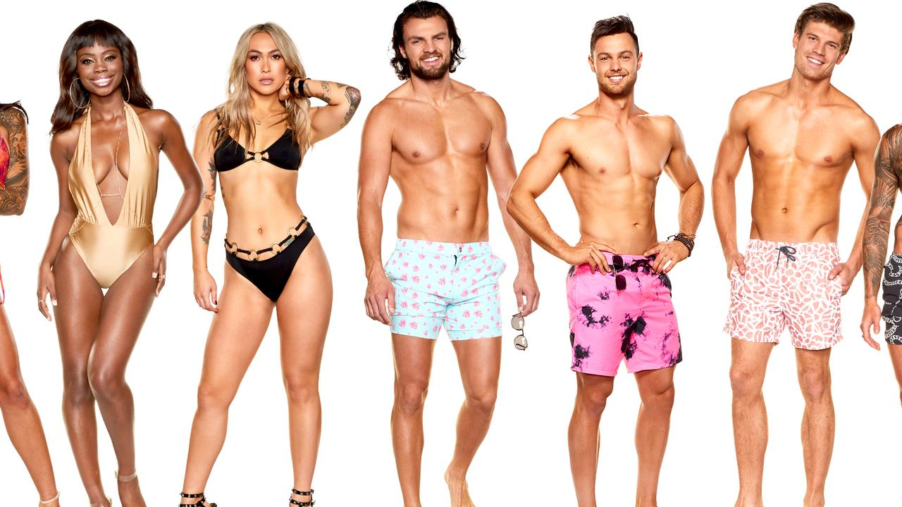 Love Island Australia season two's first contestants. Picture: Supplied.