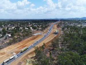 Drone video and gallery of the big changes to the Bruce Hwy