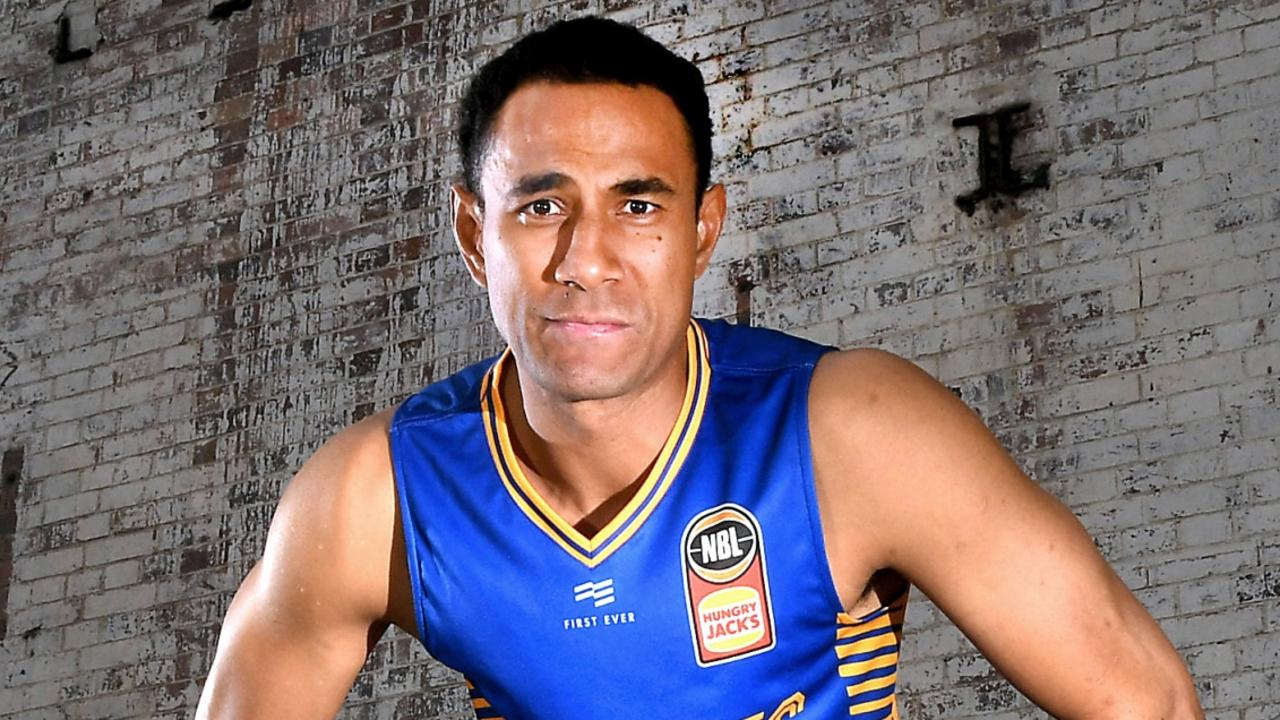 Brisbane Bullets forward Mika Vukona.