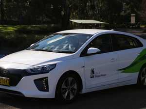 Country mayor forced to drive new electric car to Sydney