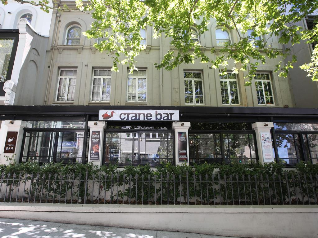 The Crane Bar in Bayswater Road, Potts Point.