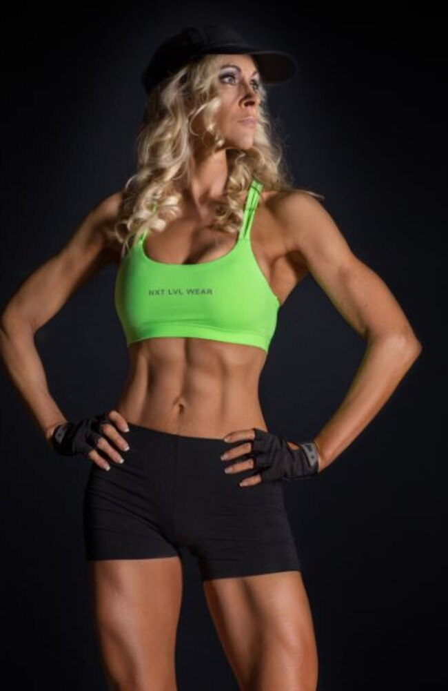 She threw herself into the training and started working on her nutrition and saw her body begin to change for the better for the first time in years. Picture: Jane Curnow
