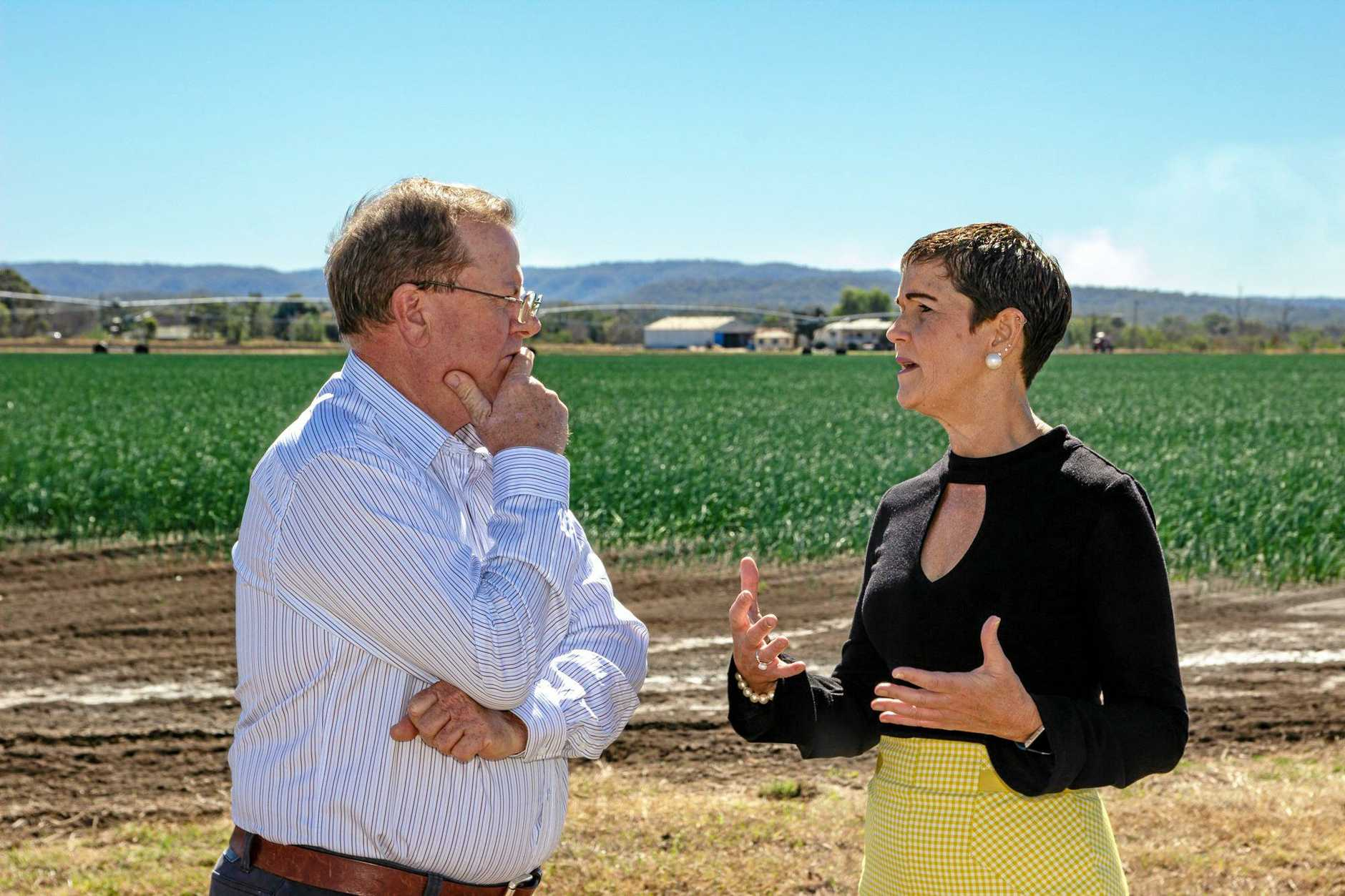 FAST: The message to Canberra from Lockyer Valley Mayor Tanya Milligan after Prime Minister Scott Morrison yesterday announced extra drought support, is that more funding is needed, and quickly.