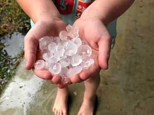 Severe storms, hail on Gympie radar for today