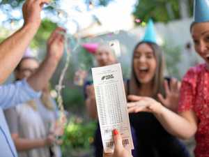 ANOTHER WINNER: Young couple celebrates $2 million prize