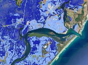 UNDERWATER: Maps reveal future inundation of Ballina, Byron