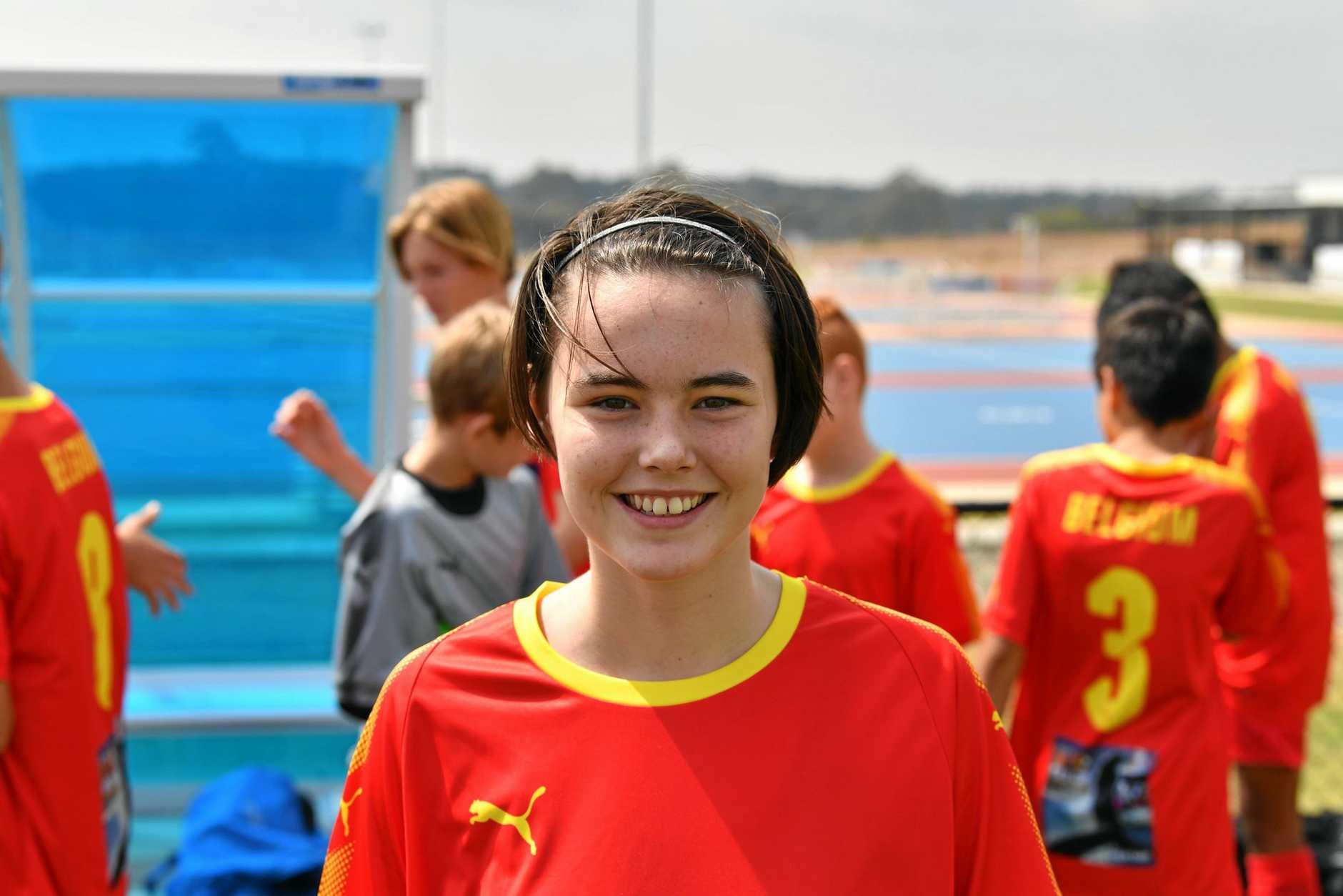 Ebony Taylor-Faint - Belgium under 14's