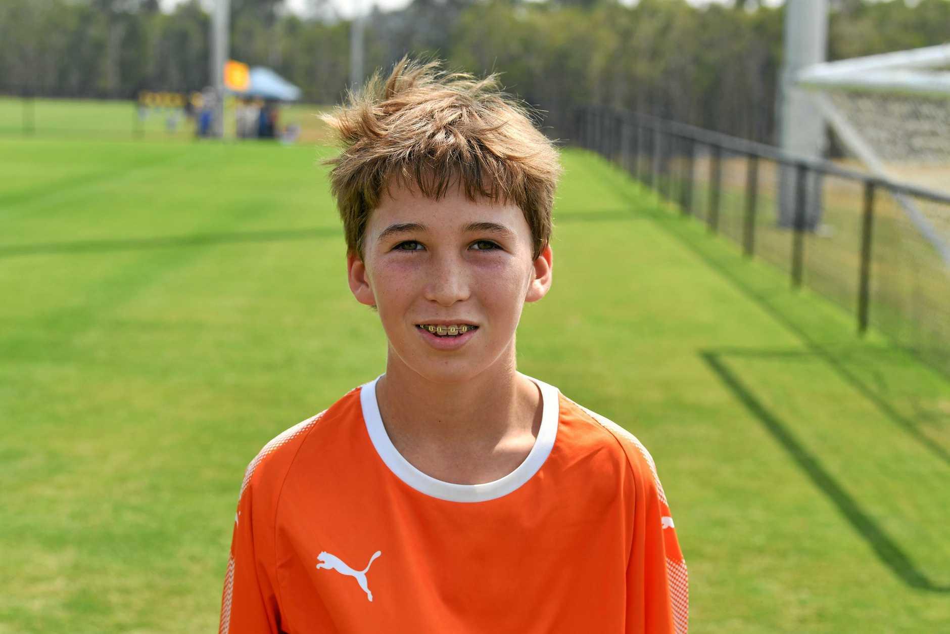 Henry Brophy - Holland under 14's