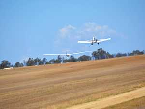 Gliders from across the globe competing above Kingaroy