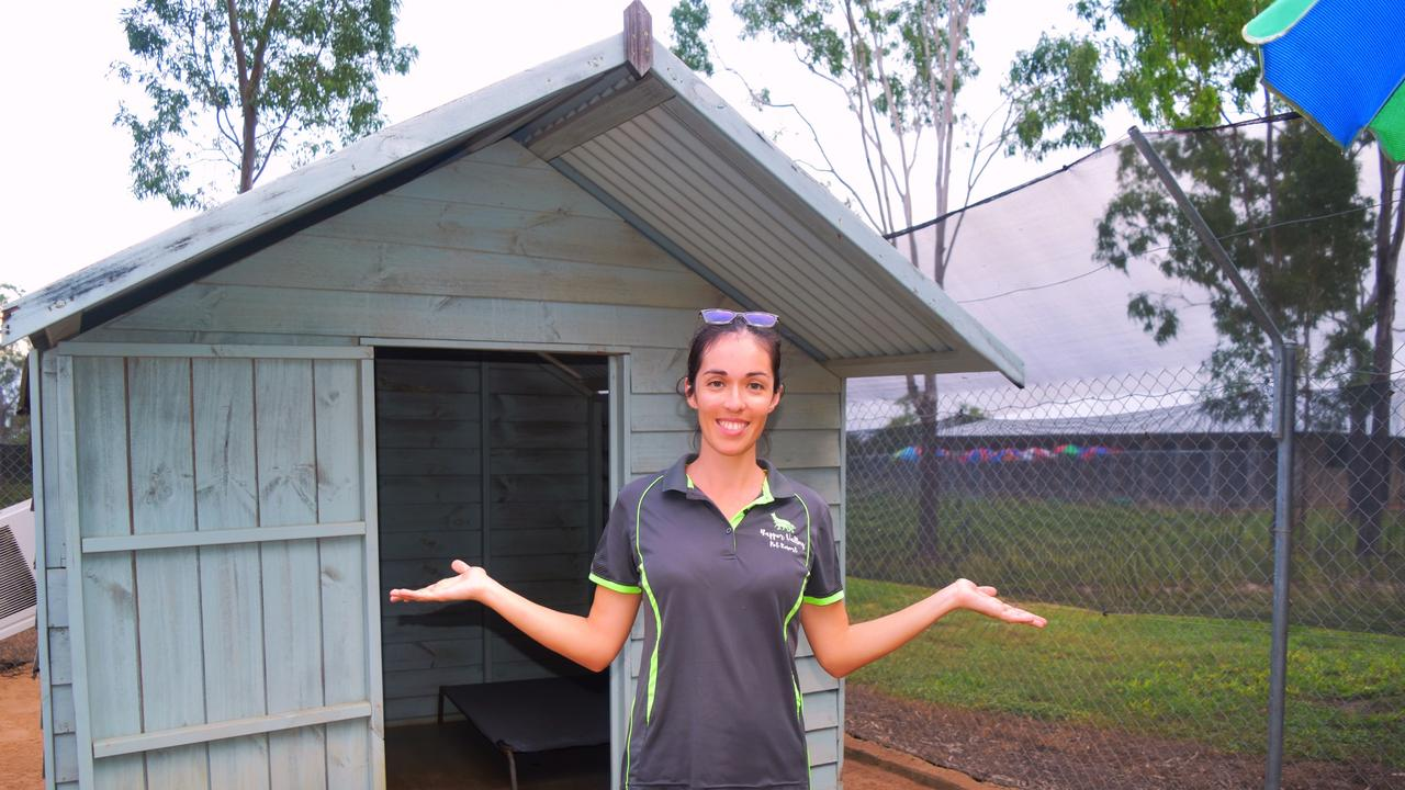 Queensland mum Natalie Giumelli, 31, put her entire life's work up for raffle.