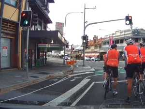Debate over $100 million cycle lane