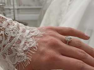 'Yes to the dress': Bindi unveils wedding gown