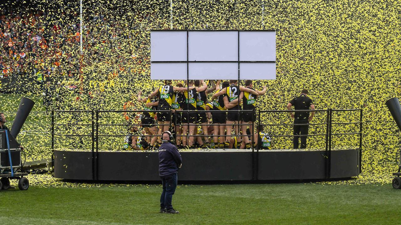 Champions. Premiers. Picture: Jason Edwards