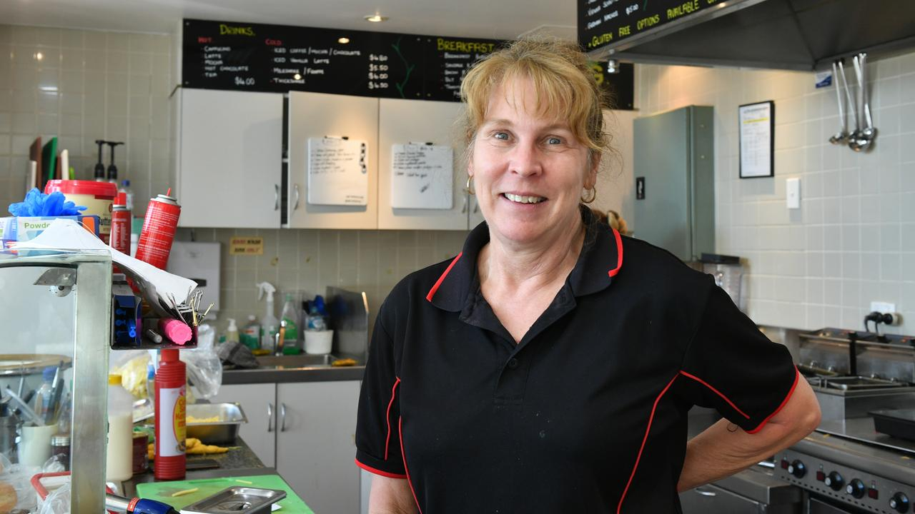 CHANGES: The Hungry German owner Monika Riedel has decided to close the Goondoon St store due to a lack of business.