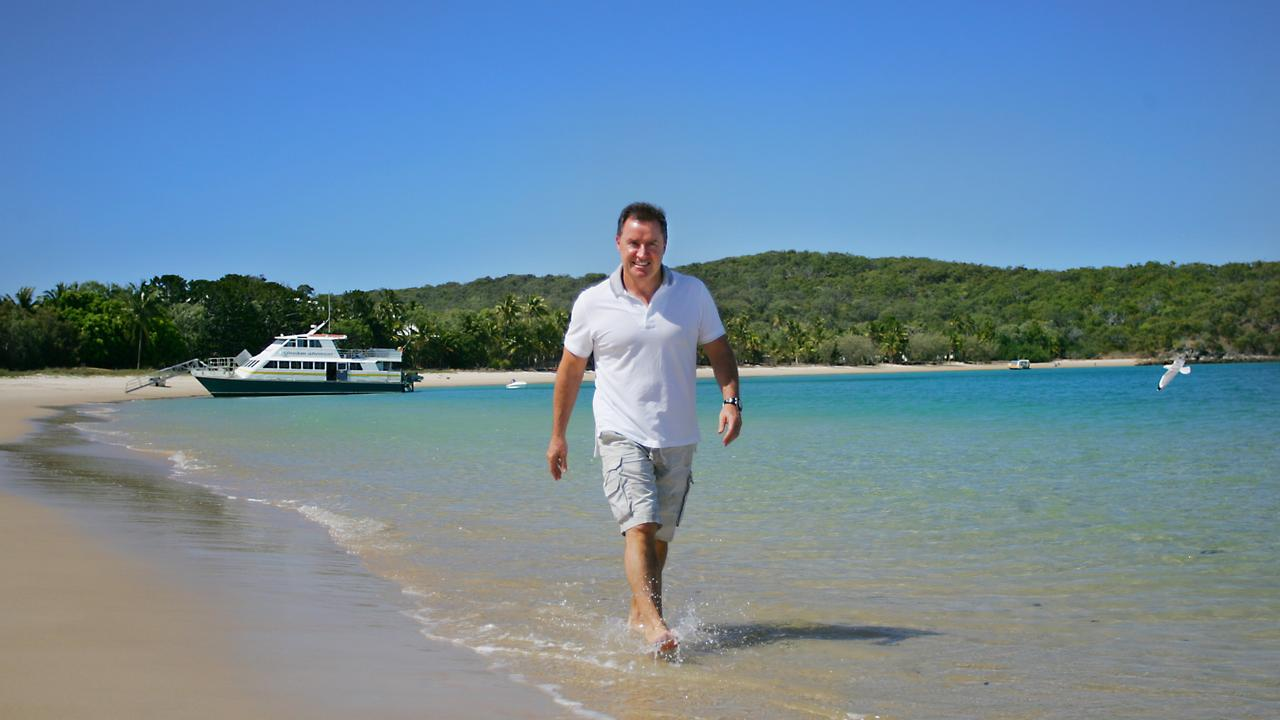 DONE DEAL: Tower Holdings owner Terry Agnew is believed to have signed a contract to transfer his resort lease on Great Keppel Island.