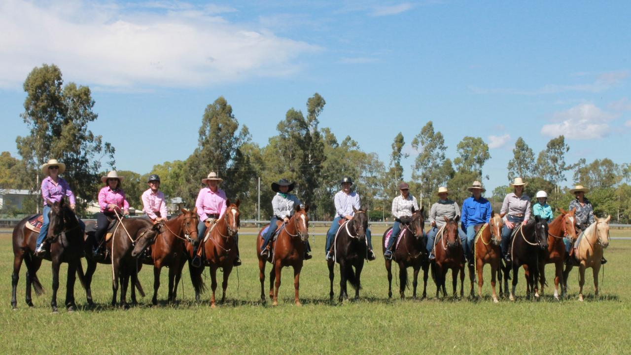 VERY THANKFUL: The Leichardt Australian Stock Horse Society Branch are now able to bring more smiles to drought stricken farmers.