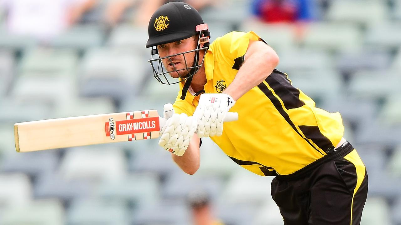 Ashton Turner broke his right index figure during training with Western Australia.