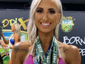 PHOTOS: Building to a stage success for bodybuilder