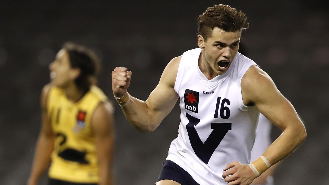 Brodie Kemp of Vic Country is a top AFL draft prospect.