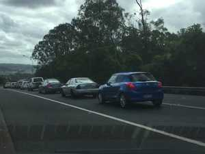Crash on Ballina Rd