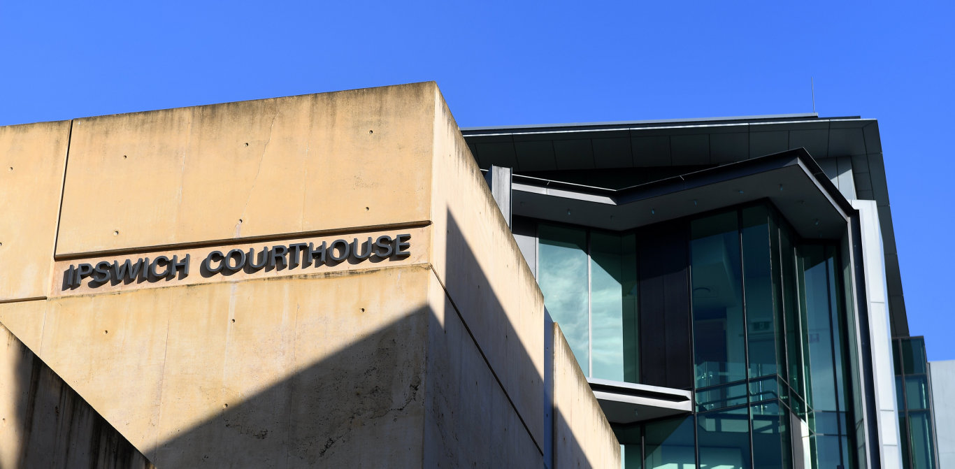 Ipswich Courthouse exterior file photo.