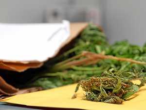 Matchbox of marijuana found after 'random breath test'