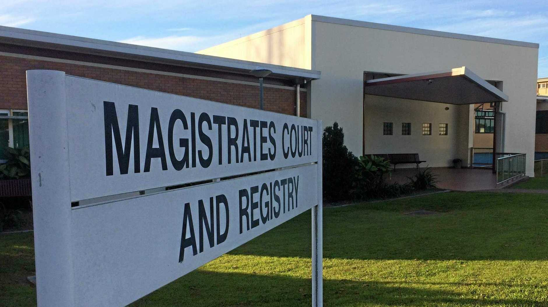 DOMESTIC VIOLENCE: Gympie Magistrates Court, where a man has been warned he might easily have gone to jail.