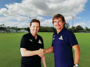 Ipswich's history of success attracts A-League coach to city