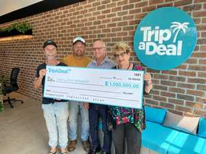 Who are TripADeal's million dollar travel winners?
