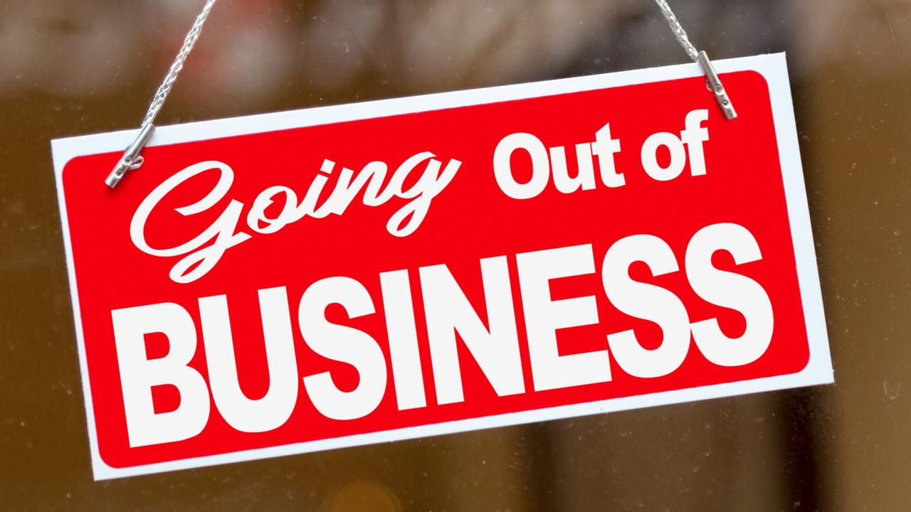 More than 100 Queensland companies folded or came close to closing last month.