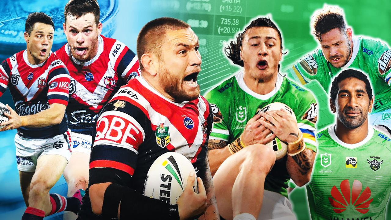 Roosters and Raiders getting best players for less in search of success.