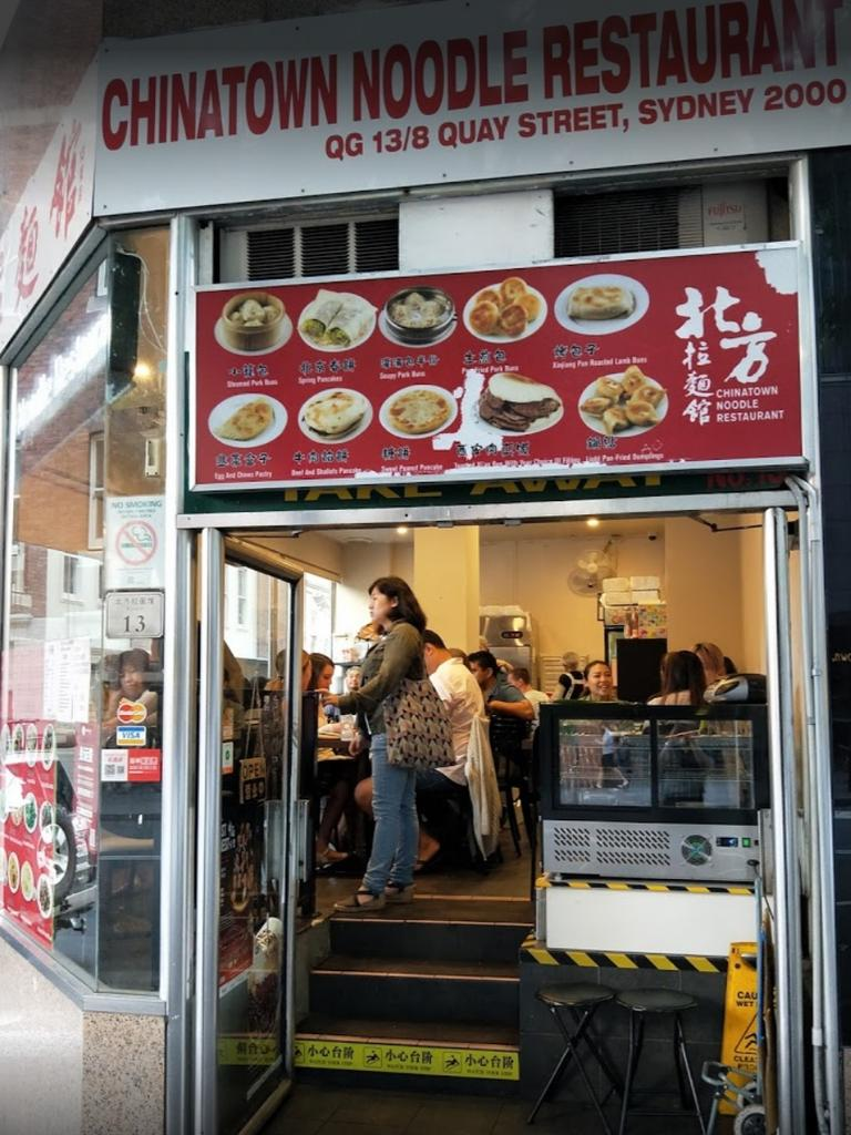 Chinatown Noodle Restaurant in Sydney is located doors away from Chinese Noodle Restaurant. Picture: Instagram