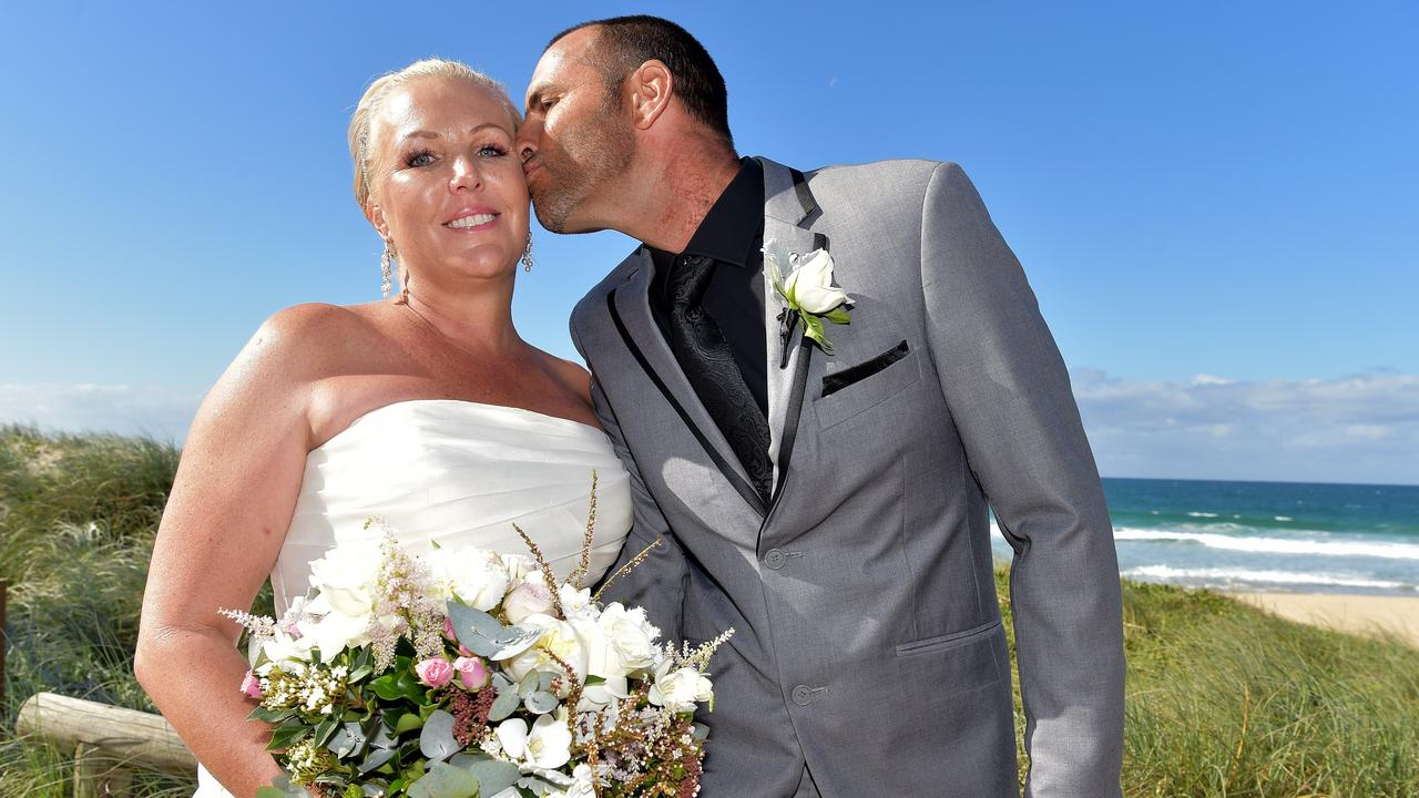 TRAGIC: Donna Penny recently lost her battle to terminal breast cancer. Donna Penny and her partner Jason.