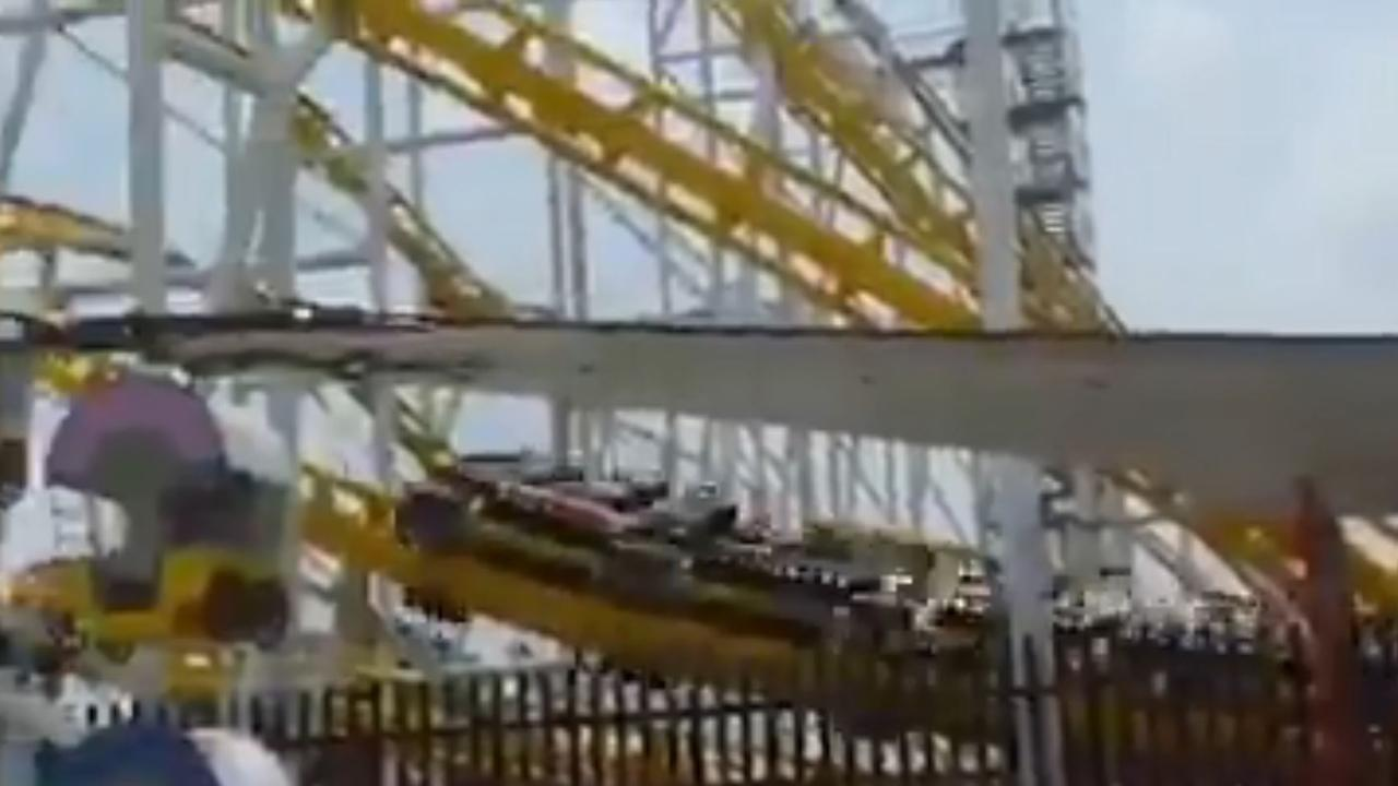 A person was filming the ride when the tragedy happened. Picture: Milenio.com