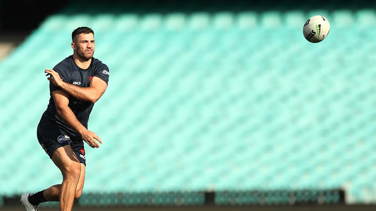 James Tedesco could earn more but be less successful. Photo: Mark Metcalfe/Getty Images