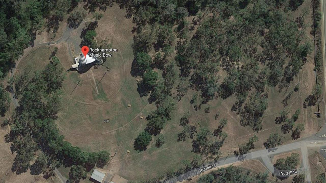The music bowl site at Parkhurst is plotted for the drug rehab centre.