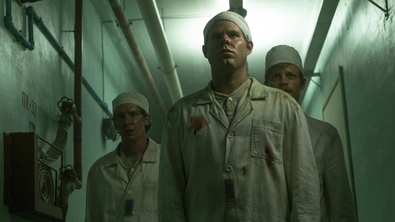 A scene from the popular Fox Showcase series Chernobyl.
