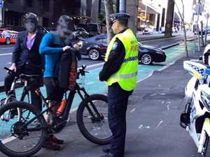 More than 130 cyclists caught out in police crackdown