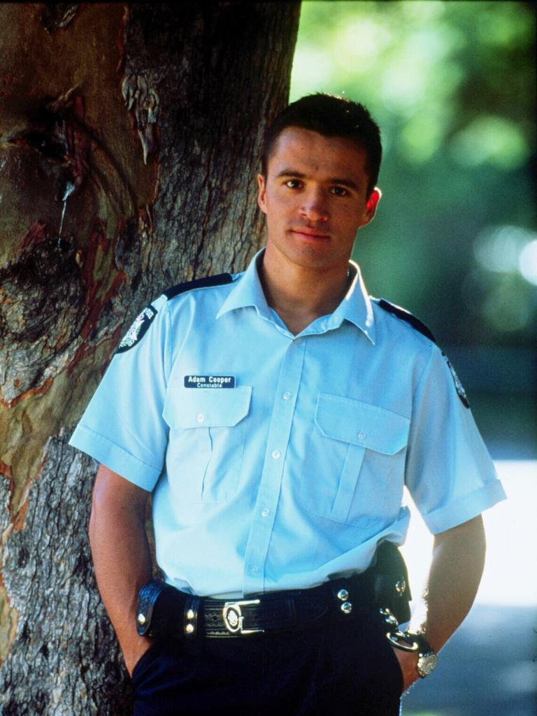 Damian Walshe-Howling during his time on Blue Heelers.